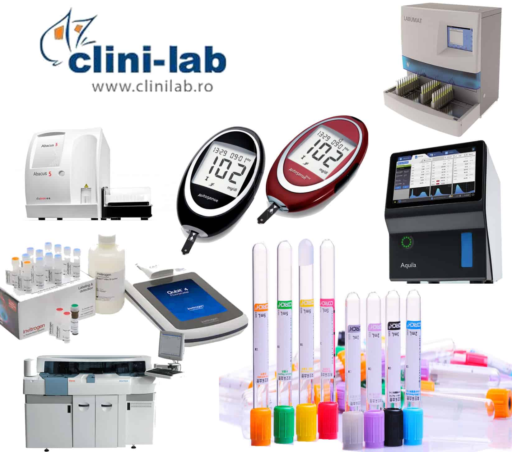Distributie ecgipamente medicale si reactivi - Clinilab Targu MuresERP