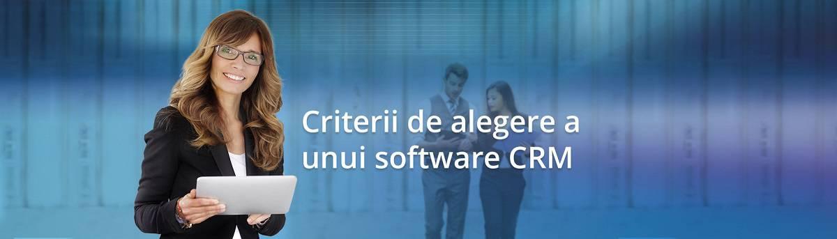 Criterii cel mai bun CRM software
