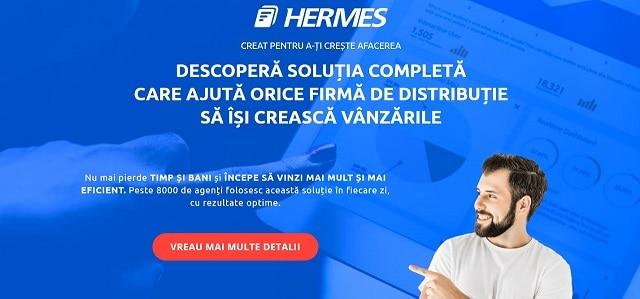 Hermes Pre-sales Van-Sales Distributie Agenti Vanzari
