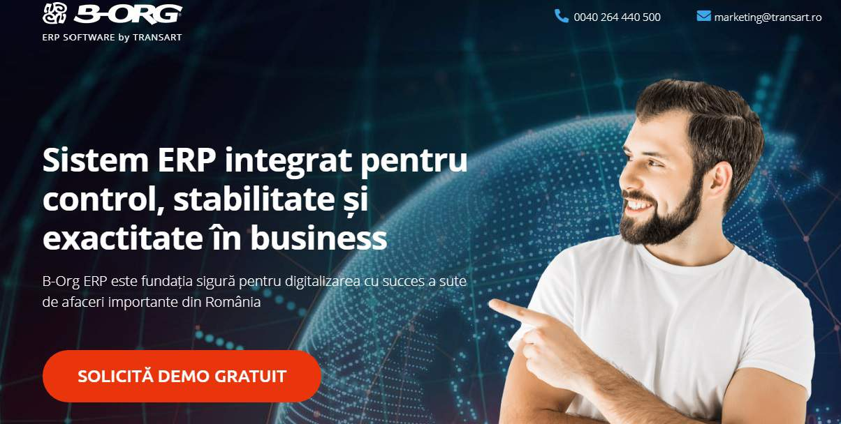 Sistem ERP Software Romania