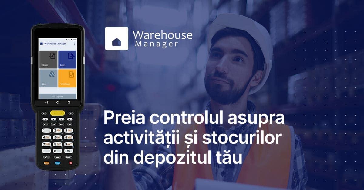 WMS - warehouse management system Transart Romania