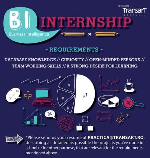 poza anunt internship Transart 2017