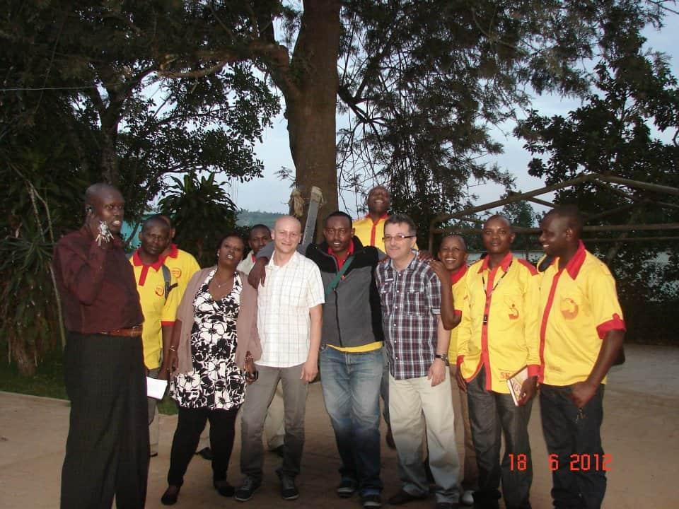 Poza de grup - Unibra Rwanda