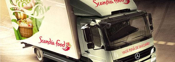 soft de automatizare HERMES SFA implementat de Scandia Food