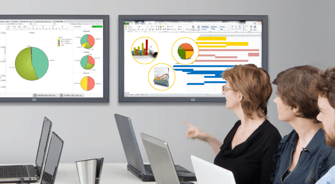 Instrumente vizuale QlikView pentru management