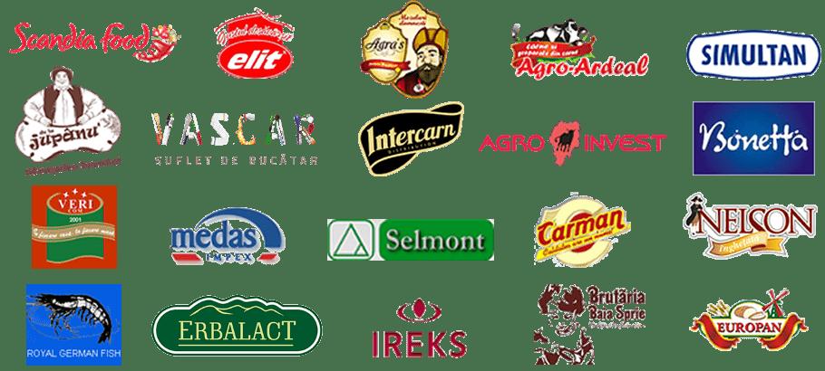 Industria carnii, lactate, panificatie - clienti Transart ERP SFA