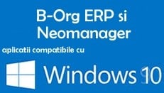 b-org erp si neomanager cu windows 10