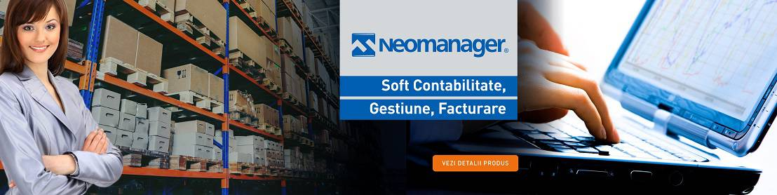 Neomanager software gestiune, stocuri, contabilitate, facturare, salarii