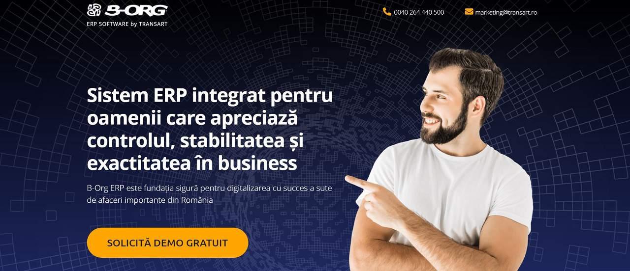 Sistem ERP Distribuitori